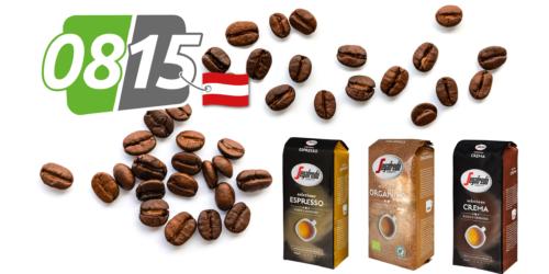 0815 liefert Segafredo Caffè-Genuss direkt nach Hause